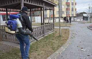 Siverek'te bahar temizliği başladı