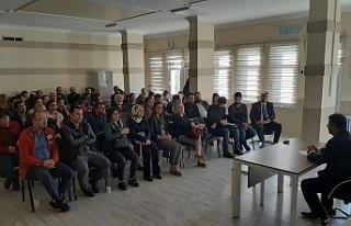 Urfa'da aile içi Eğitimleri tamamlandı