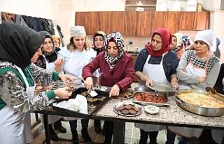Urfa'da yemek kursu başladı