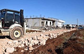 Viranşehir'de çalışmalar aralıksız devam...