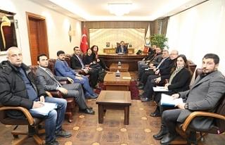 Başkan Canpolat UNDP heyetiyle projeyi görüştü