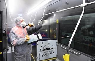 Belsan otobüsleri bir bir temizlendi