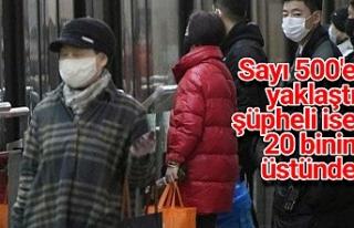 Çin'de ölenlerin sayısı artmaya devam ediyor