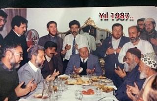 Erbakan Hoca'ya eşlik eden Urfalı isimler dikkat...