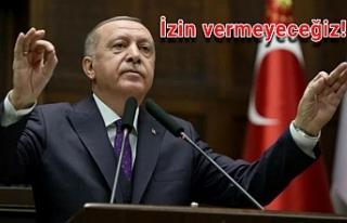 Erdoğan net konuştu
