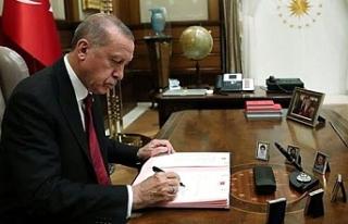 Erdoğan'nın imzasıyla kritik göreve o isim...