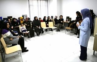 Haliliye'de kadınlara eğitim verilmeye başlandı