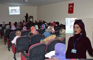 Siverek'te kadınlara özel seminer düzenlendi
