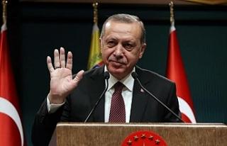 Erdoğan'dan anlamlı mesaj