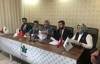 Gelecek Partisi Urfa'da A takımını kamuoyuna...