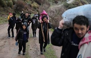 Kaç bin kişi sınırı aştı?