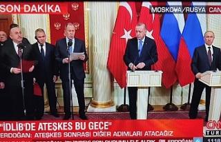 Moskova'da anlaşma sağlandı...