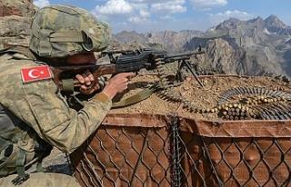 PKK'lı 5 terörist etkisiz hale getirildi!