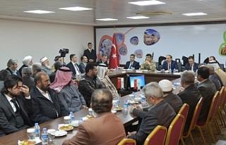 Suriyeli kanaat önderleri ile toplantı yapıldı