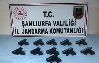 Urfa'da silah kaçakçısı yakalandı