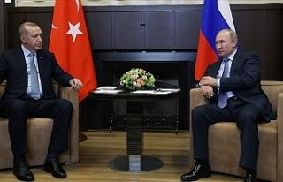 Cumhurbaşkanı Erdoğan telefonla Putin'le görüştü