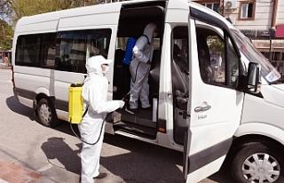 Hilvan'da Koronavirüs seferberliği sürüyor