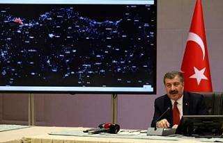 İşte Türkiye'nin korona virüs haritası...