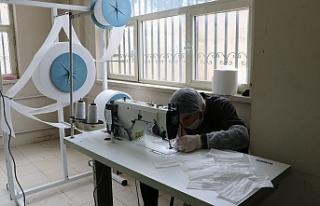 Şanlıurfa Valiliği Maske Üretimine Hız Verdi