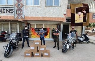 Türk Riders CC'den yardım eli...