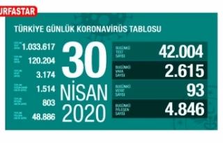 Türkiye'de can kaybı: 3 bin 174