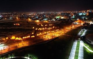 Urfa'da o bölge aydınlatıldı