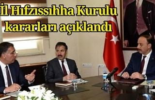 Urfa'da yasakla ilgili kararlar açıklandı...