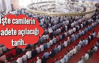 Erdoğan, camilerin ne zaman açılacağını açıkladı