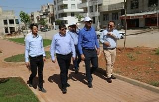 Eyyübiye'ye 19 yeni park kazandırıldı
