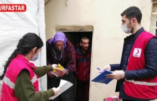 Urfa'da 204 bin haneye dağıtıldı
