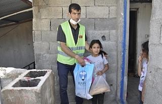 Yardımlar Urfa geneline yayıldı