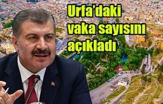 Bakan Koca'dan Urfa açıklaması...