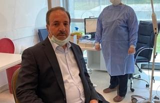 Halil Özcan'ın test sonucu çıktı