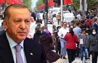 İşte Erdoğan'ın masasındaki son anket...