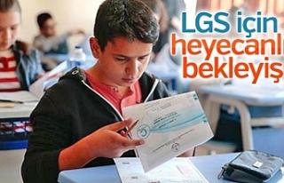 İşte Urfa'da sınava girecek öğrenci sayısı...