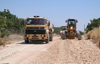 Kırsal yolların kalitesi artıyor...