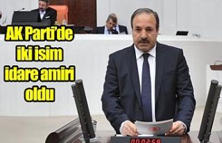 Milletvekili Özcan o göreve devam ediyor!