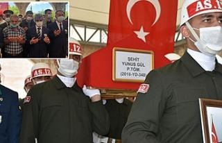 Şehit Gül, son yolculuğuna uğurlandı