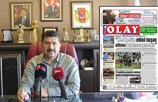 Urfa Olay Gazetesi veda etti!