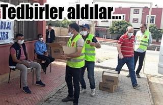 Viranşehir Belediyesi öğrencileri unutmadı
