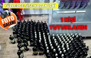 Viranşehir'de kaçak içki operasyonu
