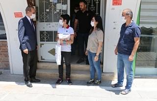 Yalçınkaya'dan öğrencilere moral ziyareti