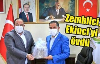 Zembilci, Viranşehir'de konuştu...