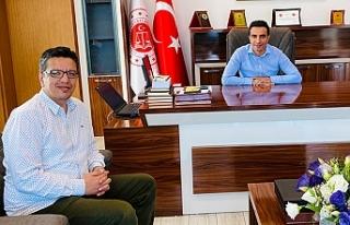 Albayrak, Urfalı Başsavcı Özkan'ı ziyaret...