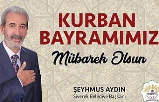 Başkan Aydın'dan bayram mesajı…