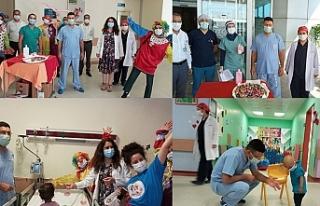 Hastalara bayram sürprizi