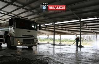 Karaköprü Belediyesi hazırlıklarını sürdürüyor