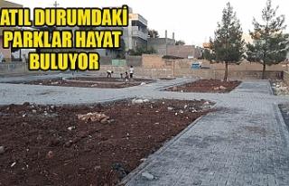 Viranşehir Belediyesi o parka el attı