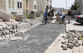 Viranşehir'de yollar yenileniyor