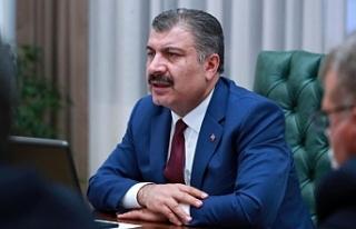 Bakan Koca, Urfa Sağlık Müdürü ile görüştü